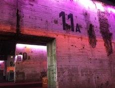 Base sous-marine intérieur - jeux de lumière et de couleurs